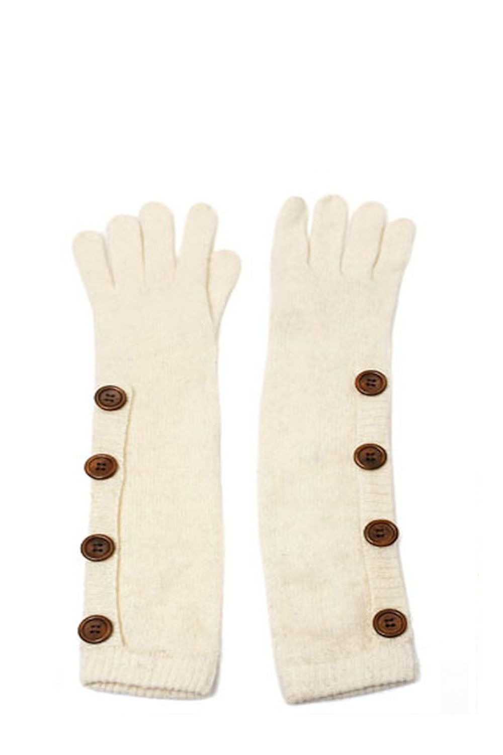 Gloves Knitted Buttons αξεσουαρ