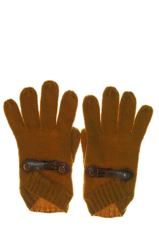 Gloves With Leather Belt αξεσουαρ   γάντια