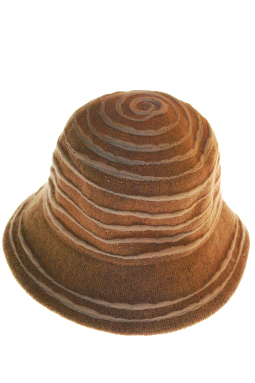 Hat Wool With Lines αξεσουαρ   καπέλα