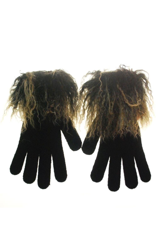 Gloves Fur αξεσουαρ   γάντια