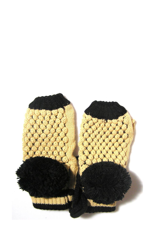 Gloves Cut Black Tassel αξεσουαρ   γάντια